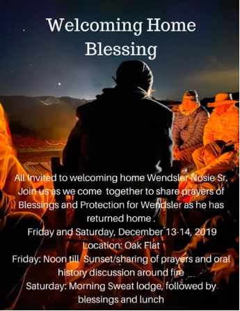 Welcoming Home Blessing
